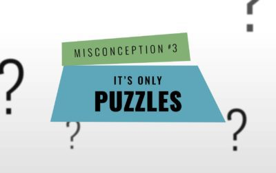 Misconception Monday | I'm Not Good At Puzzles